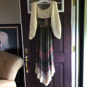 Vintage Vicky Vaughn 70's flower child dress 🌸
